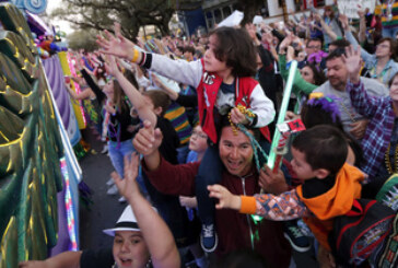 New Orleans celebrates culmination of Mardi Gras