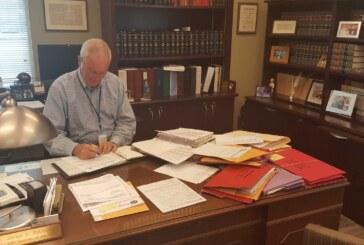 Clerk to retire; 3 vie for the job