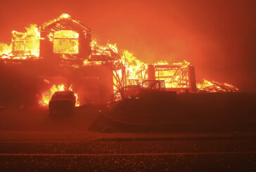 Wildfires ravage Northern California with shocking speed