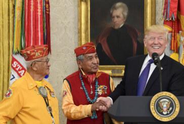 Trump's 'Pocahontas' jab stuns families of Navajo war vets