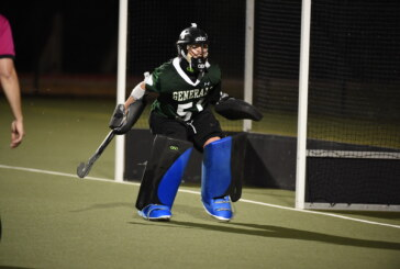 Field hockey goalie enjoys record-setting career