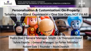HSMAI Digital Marketing Strategy Conference On-Property Customization and Personalization