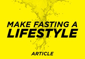 fasting lifestyle
