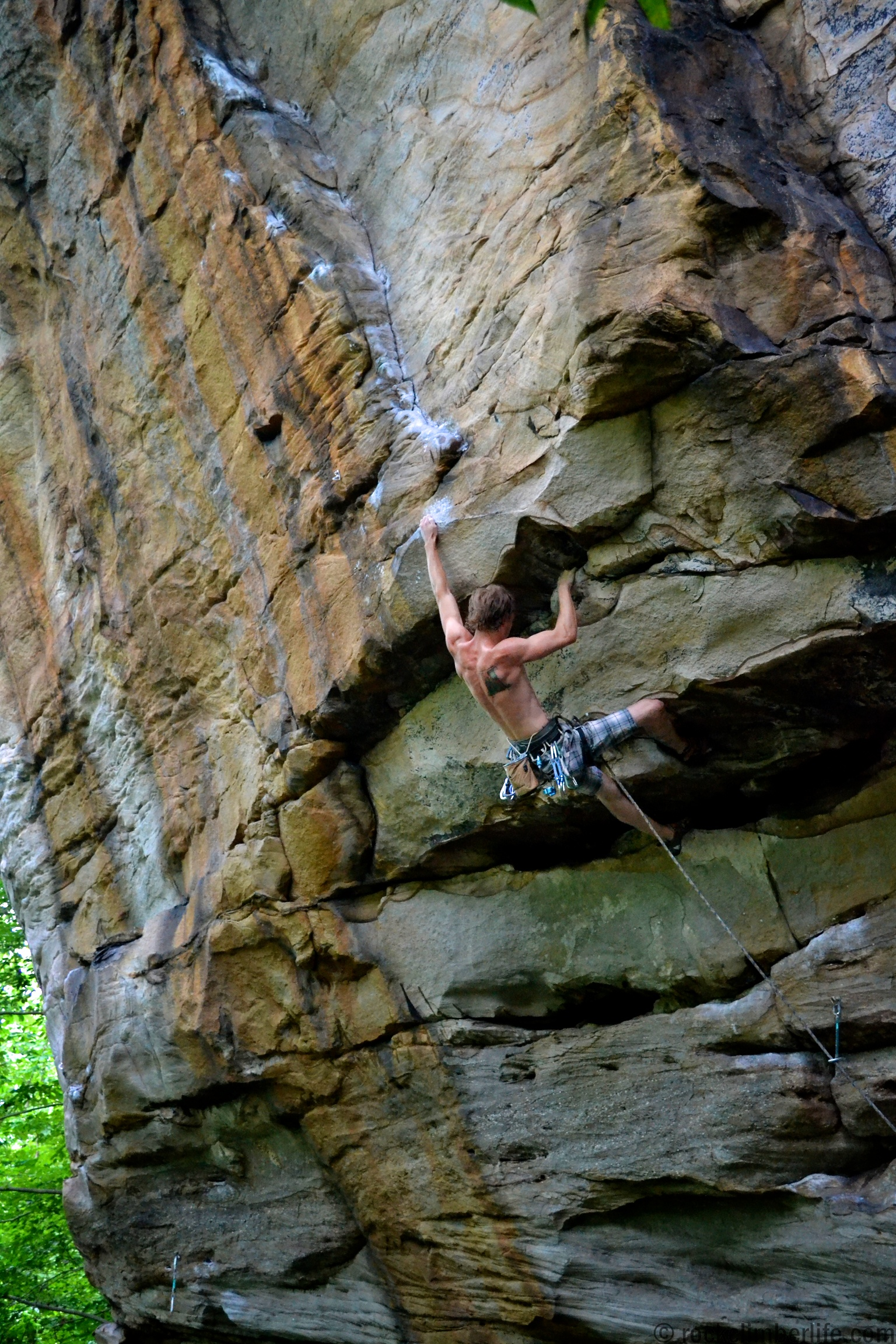 New River Gorge Climbing