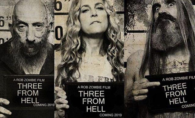 Rob Zombie lança trailer de 3 From Hell