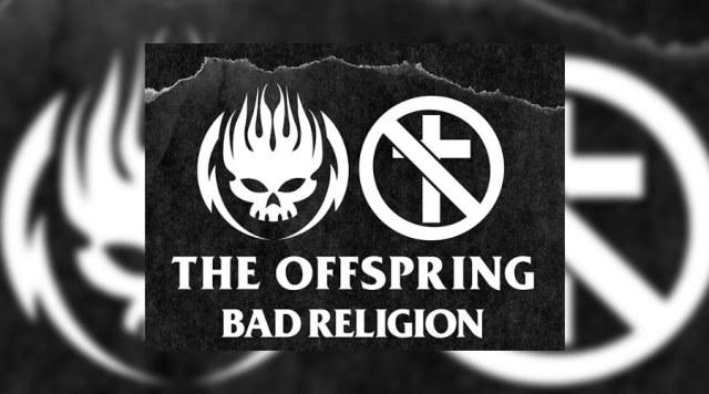 THE OFFSPRING E BAD RELIGION CONFIRMAM SHOW EM CURITIBA