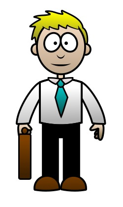 how to draw a cartoon lawyer