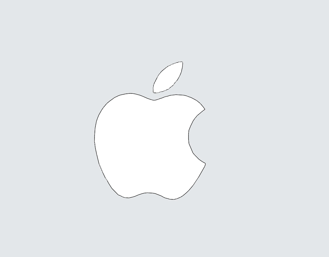 How To Draw An Apple Logo Step By Step Easy Beginner Video Tutorial