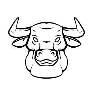 How to draw a bull head step by step easy for beginners ...