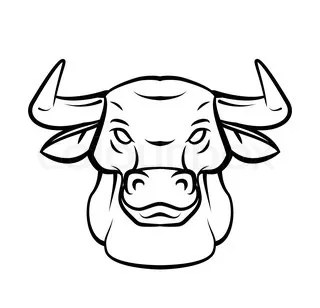 How to draw a bull head step by step easy for beginners