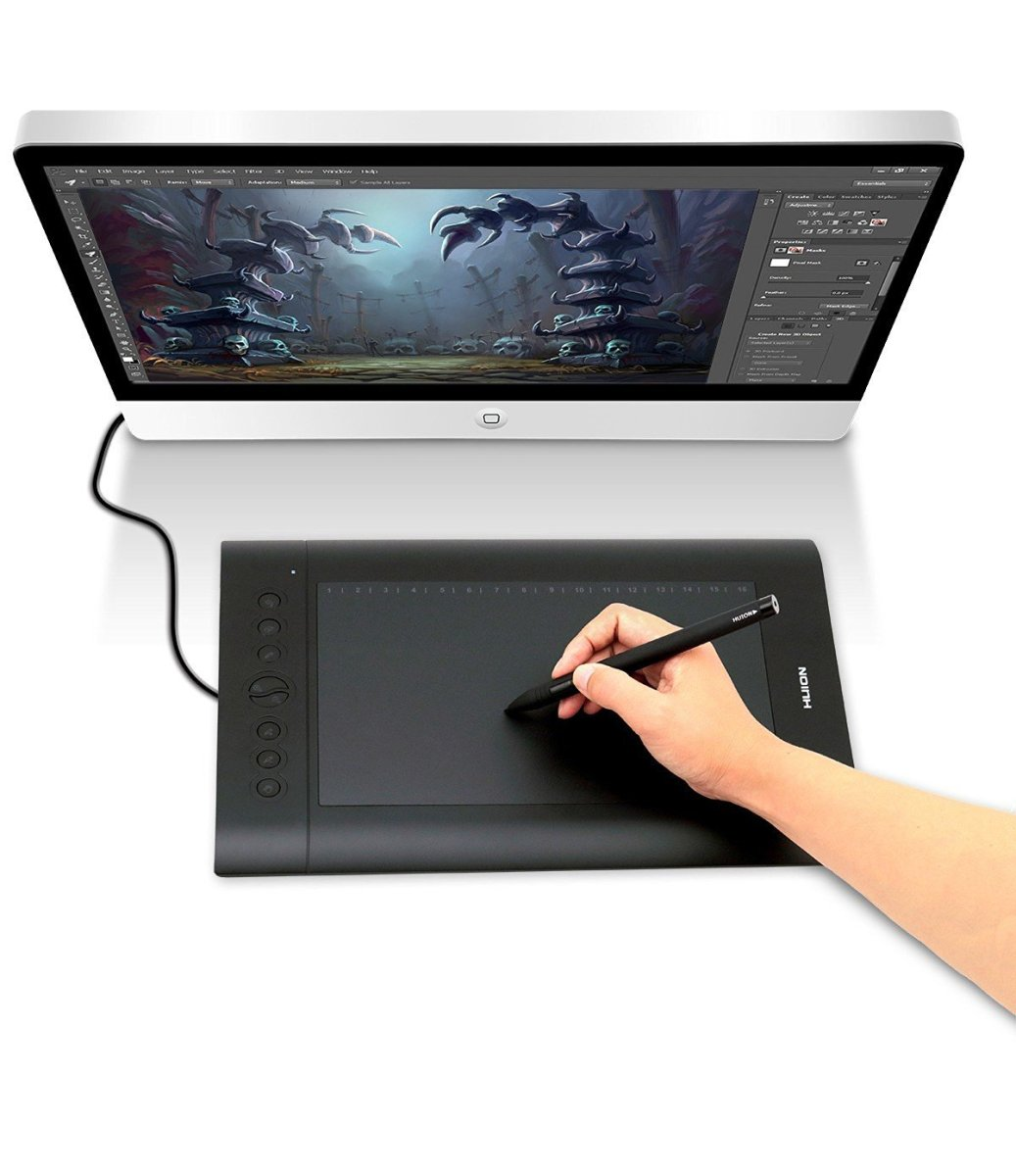 Best Drawing Tablets For Artists Review 2018 – Buyer Guide