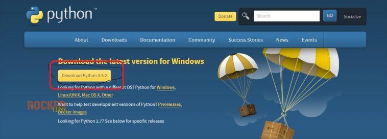 Download python