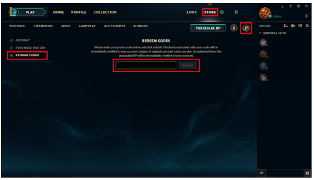 How to Use LOL Free RP Codes