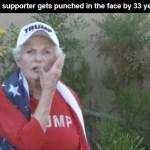 Elderly Trump