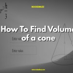 How To Find Volume