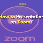 Zoom presentation
