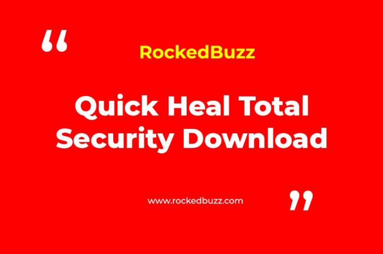Quick Heal Total Security Download