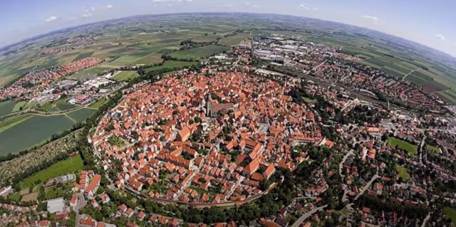 This is the town of Nordlingen
