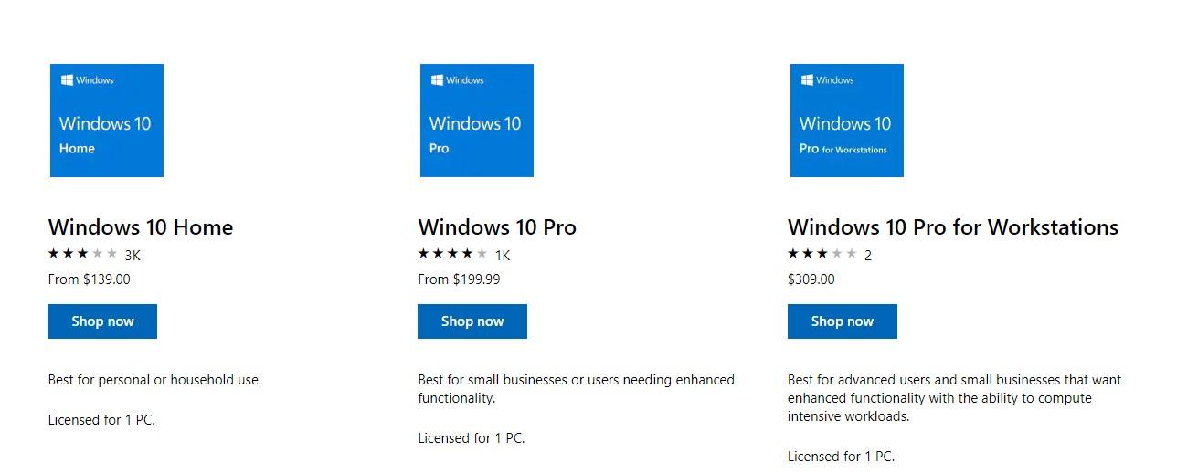 Windows 10 Product Key Buy
