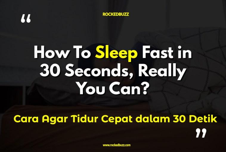 Cara Agar Tidur Cepat dalam 30 Detik