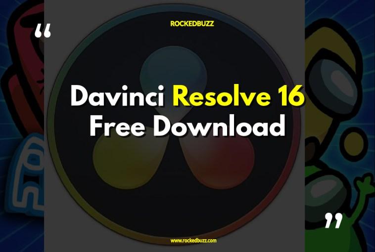 Davinci Resolve 16 Download