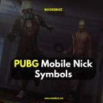 PUBG Mobile Nick Symbols