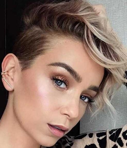 The edgy pixie haircut