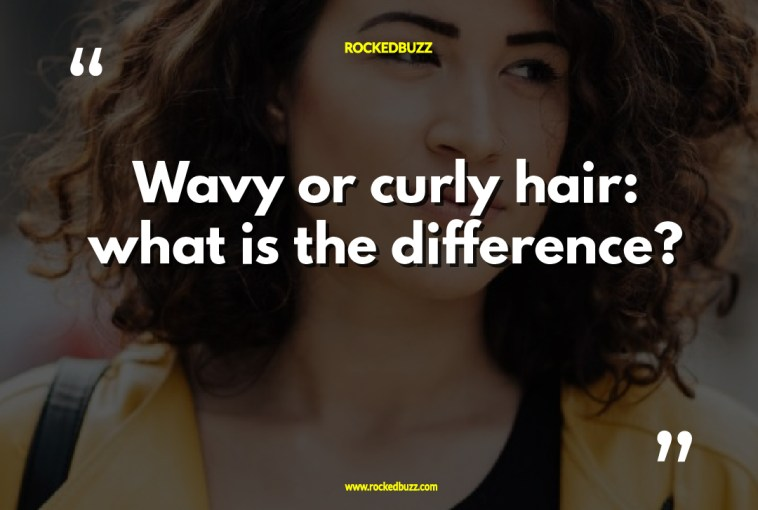 Wavy or curly hair