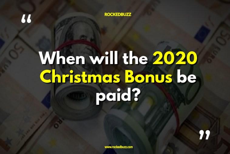 Christmas Bonus 2020