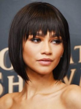 short hair styles for women Fringe