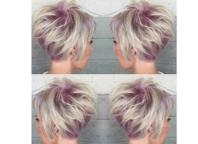 short hair styles for women stacked