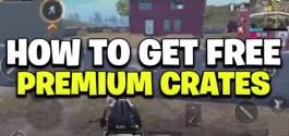 PUBG premium Crate Coupon
