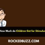 How Much do Children Get for Stimulus