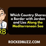 Which Country Shares a Border with Jordan and Lies Along the Mediterranean Sea