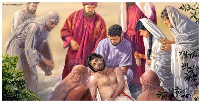 Which Pharisee helped provide embalming spices for Jesus' body