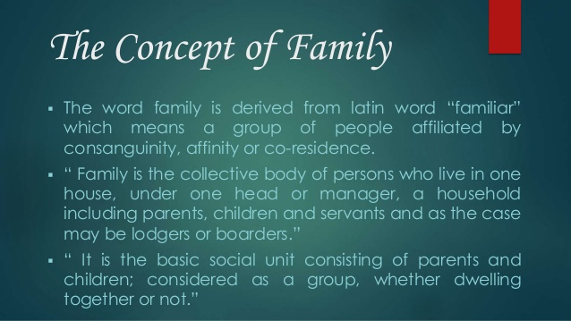 What familiar word is derived from a Latin word that means