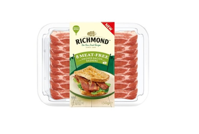 Richmond meat free bacon where to buy