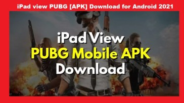 iPad view PUBG