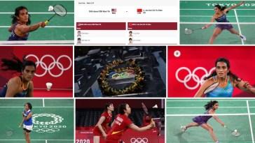 Badminton olympic Games Tokyo 2020