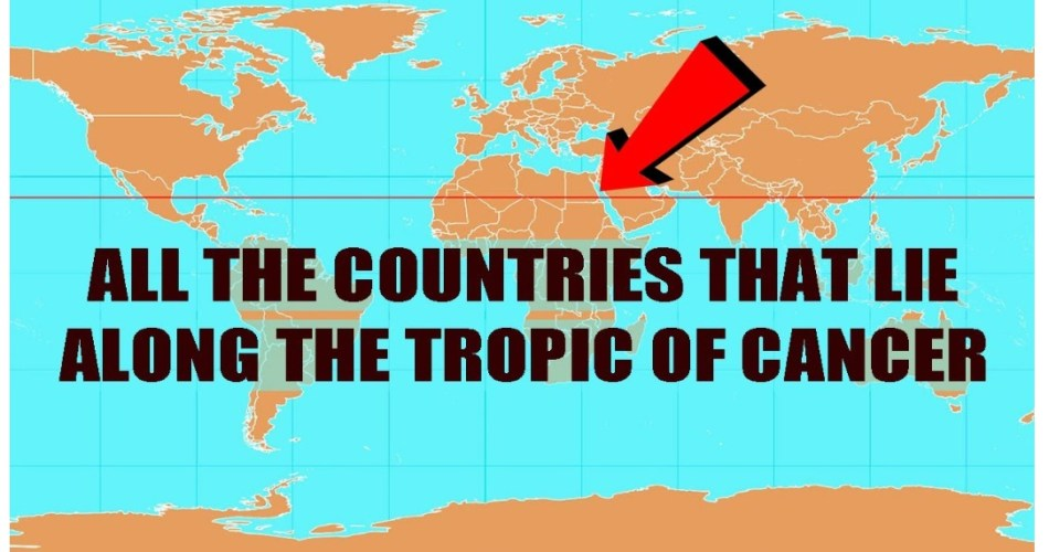 Which asian capital is closest to the tropic of cancer