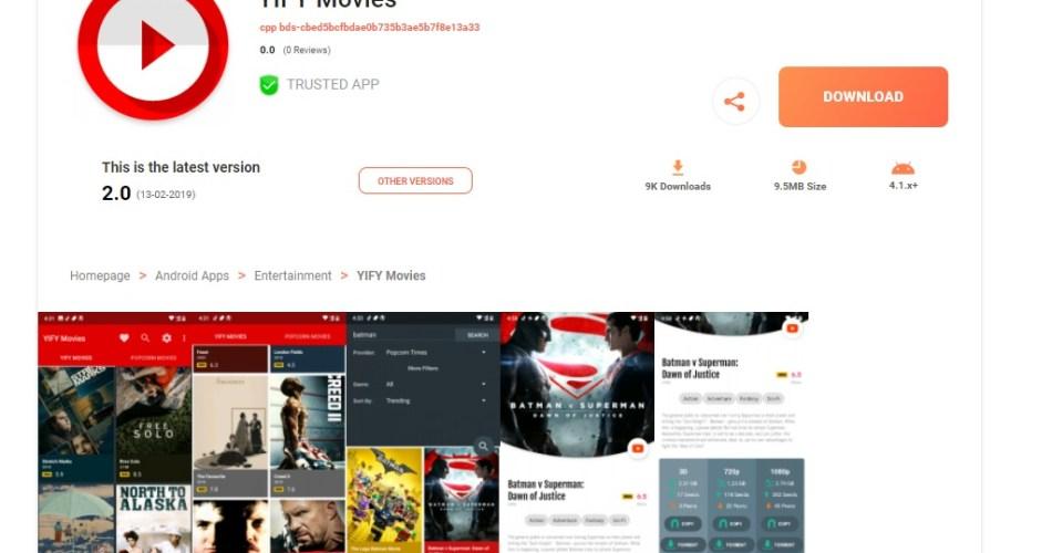 yifymovies.tv APK