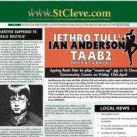 "Recenzja Jethro Tull's Ian Anderson ""Thick As A Brick 2"" /2012/"