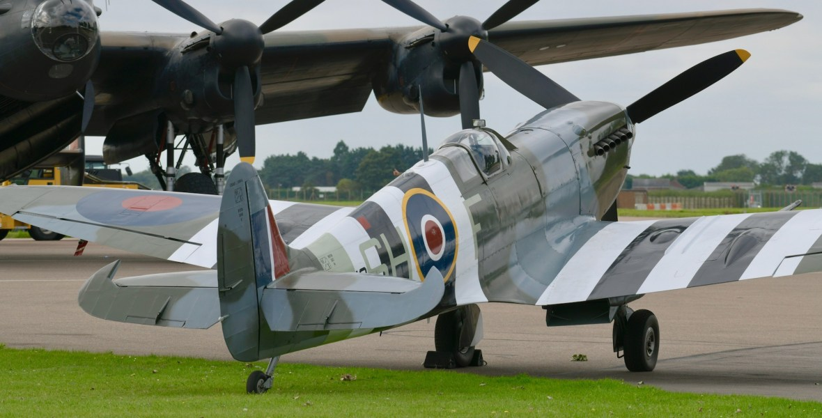 Battle of Britain Memorial Flight visit