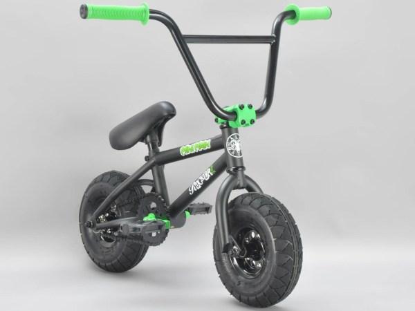 Rocker BMX Mini BMX Bike MINI MAIN with black tyres iROK+ ...
