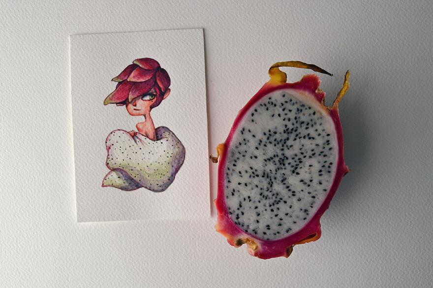 Resultado de imagem para fruta do mandacaru