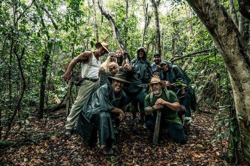 Swamp Killer behind the scenes