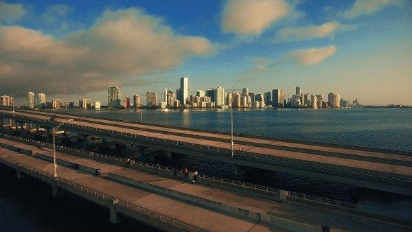 Miami Skyline Aerial