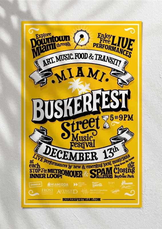 Buskerfest Poster