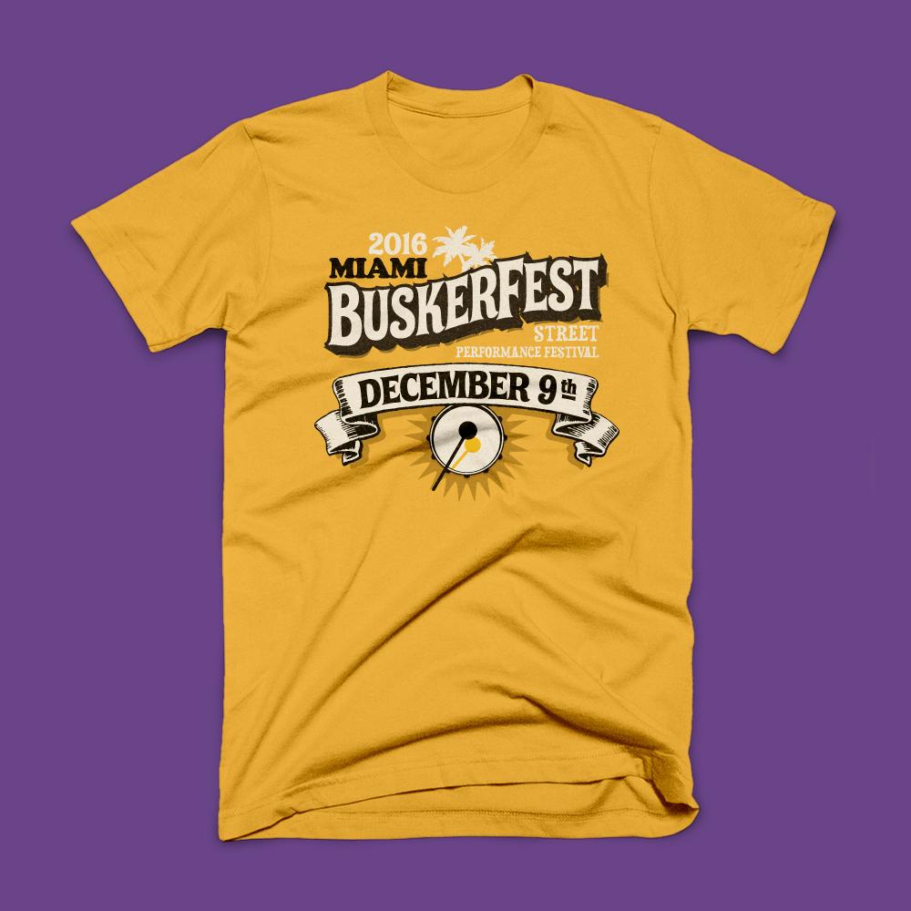 Buskerfest TShirts