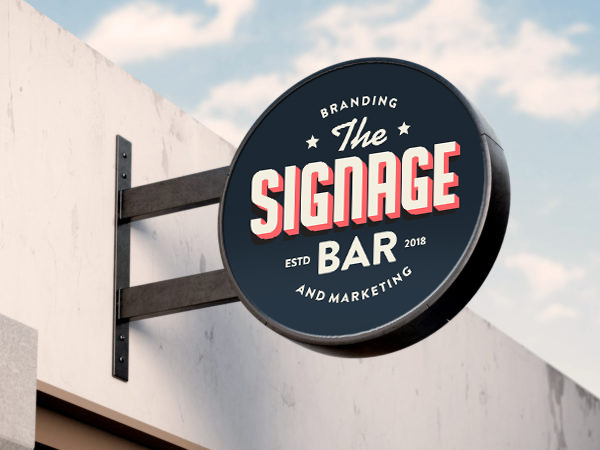 The Signage Bar Sign